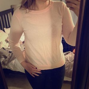 Forever21 pink sweater
